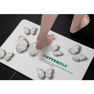 #02 Diatomite Mat With Pattern Design