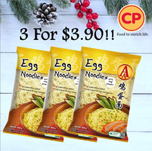 [CP Food] AA Egg Noodles 3 For $3.90!! (Frozen)