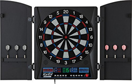 (Fat Cat by GLD Products) Fat Cat Electronx Electronic Soft Tip Dartboard with Cabinet (110V only)