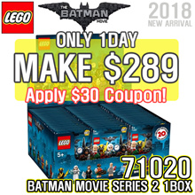 [MAKE $289]LEGO 71020 BATMAN MOVIE Series 2 / 1 BOX / 60PCS