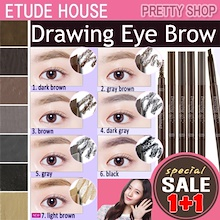★Etude House★ [1+1] BUY1 GET 1FREE! Drawing Eye Brow Pencil
