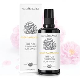 Organic Bulgarian Rosa Damascena Rosewater 200ml - TONER [CLEANSES HYDRATES REJUVENATES SKINCARE.