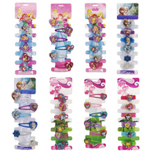 Set of 6 Pieces Gift Pack Hair Bands Clips for Baby Kids Children Girls