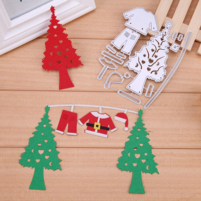 Qoo10 Christmas Tree Hat Set Cutting Dies Embroidery Dies For