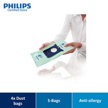 Philips FC8022/04 s-bag Vacuum cleaner bags /4x dust bags /One standard fits all /Anti-allergy