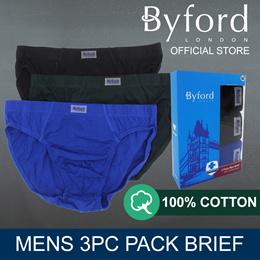 BYFORD 3PCS MENS MINI | ANTI-BACTERIAL TREATMENT - BMB754046
