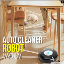 Auto Vacuum Cleaner Robot Microfiber Smart Robotic The robot Cleaner effectively picks up dirt debris pet hair and dust from carpets wooden floors marble floors and nylon flooring