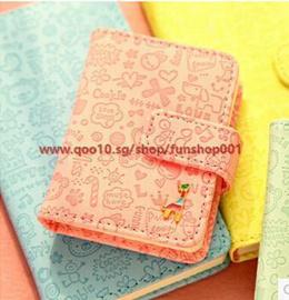 Korea stationery cute candy colored leather giraffe graffiti notebook this small creative 0082_funsh