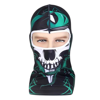 92a013b0f86 3D Animal Skull Active Outdoor Sports Cycling Motorcycle Masks Ski Hood Hat  UV Protect Full Face
