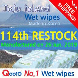 ★111th RESTOCK★NO.1 Wet Wipes/NO.1 Wet Wipes in SG/Manufactured on May 15. 2019