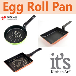★Kitchen Art★Egg Roll Pan/Made in Korea/Die Casting/5 Layers Coating/Scratch Abrasion protection