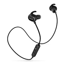 QCY QY12 ORIGINAL Sport Headset Bluetooth 4.1 Earphone - Hitam