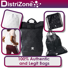 100% Authentic Adidas Bags Clutch Gymsack (While Stocks Last - Very Limited Quantities)