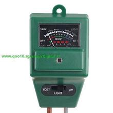 3-in-1 Garden Soil Moisture Tester Light Luxmeter  PH Meter`