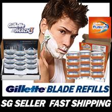 【GSS PROMO】Fusion/Mach 4/8/12-Cartridges Razors/Blades Refills Compatible w/ Gillette