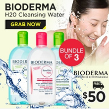 SAVE $70!! BEST-SELLING CLEANSERS N MAKEUP REMOVERS. ❤ BIODERMA | AVENE | VICHY | BIFESTA
