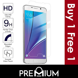 Samsung Galaxy Note 5 4 3 S7 S6 S4 S3 Tempered Glass Screen Protector