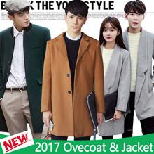 2017 Men's Jacket / Double-breasted coat / Couple coat / Woolen coat / Trench coat / Overcoat / Suit