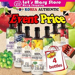 [Fast Delivery] ◆ 4 bottles Drinking Fruit Vinegar Micho ◆ korean Drinking / healthy tea drin