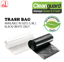 Cleanguard Oxo-Biodegradable Trash Bag (Available in 3 sizes)