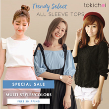 TOKICHOI -   Trendy Selected Tops/Multi Colors Multi Styles