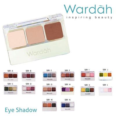 WARDAH Eye Shadow - Series B