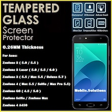 Asus ★ Tempered Glass ★ Zenfone 5 / 4 / 3 / 2 ★ Max ★ Ultra ★ GO ★ Laser ★ Selfie ★