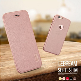 Lenuo Ultra Thin Flip Cover Cases For  iphone 6s 7 Plus