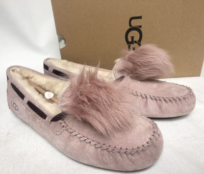 8e9a677b598 UGG Australia Dakota Pom Pom Dusk Moccasin Slipper womens sizes 1019015  Shoes