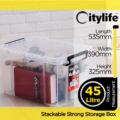STORAGE PLASTIC CONTAINER BOX X 6030 [CITYLIFE BY CITYLONG IS