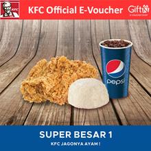 [FOOD] Paket Super Besar 1 /KFC