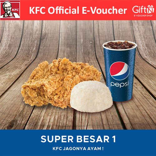 [FOOD] Paket Super Besar 1 /KFC Deals for only Rp34.350 instead of Rp34.350
