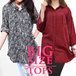 [FLAT PRICE] BIG SIZE TOPS COLLECTION / KEMEJA BIG SIZE / CASUAL / OFFICE