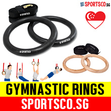 ⏰⚡ Premium Gymnastic Rings ☘ CrossFit / Olympic Gym Rings ☘ Body Weight Training ☘ SG Seller  ☘