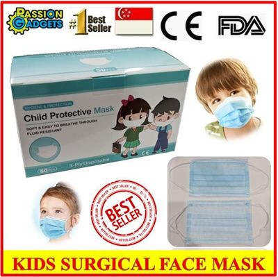 Kids Surgical Mask (50pcs)FDA CE Certified