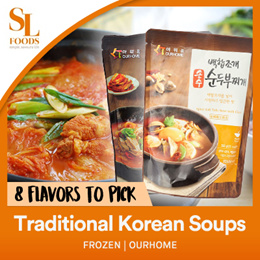 Ourhome Traditional Korean Soups and Stews - Frozen