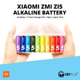 *Newly Arrived Stocks* Xiaomi ZMI ZI5/ZI7 AA / AAA Alkaline Battery (1 pack consist of 10 batteries)