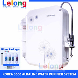 Korea 3000 Alkaline Water Purifier System Water Purification Korea Filter Alkaline Water Filter