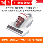 💖LOCAL SELLER💖[Xiaomi Youpin JIMMY JV11] Handheld Anti-mite Vacuum Cleaner 14000 Time Per MIN Powe