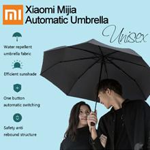 【BEST SELLER 】Xiaomi  Automatic Umbrella Sunny Rainy Bumbershoot Aluminum Windproof Waterproof UV Parasol