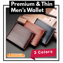 ★ Retro Men Slim Premium Short Wallet ★ Multi-Card Holder Design★ High Quality PU Leather