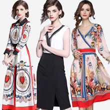 Promotions  High quality dress elegant dress/European British style/Office dresses/Long dress