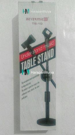 TIANG MIC MEJA/ TABLE STAND MIC BEYERMIC TS-01