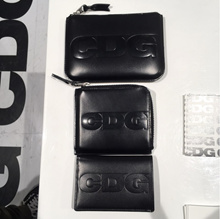 COMME des GARCONS CDG embossed logo wallet