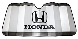 Plasticolor 003714R01 Honda White Windshield Sunshade