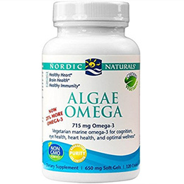 [USA]_Nordic Naturals: Algae Omega, 120 sgels (2pack)