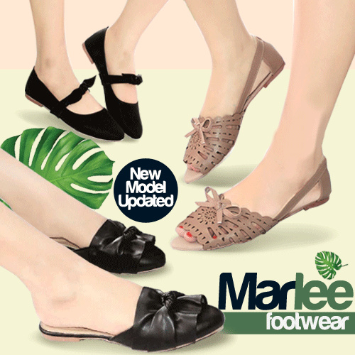 BEST SELLER MARLEE SHOES / SANDALS/ WEDGES / HEELS / CASUAL SANDALS / TRENDY SANDALS/ TRENDY WEDGES Deals for only Rp25.000 instead of Rp25.000