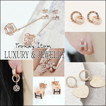 💕 LAURENCO💕 15th  NOV UPDATE!! / Trendy Luxurious Korean Style Earrings / Ring / Bracelet