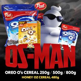 [Post]★Oreo Cereal 250g/500g/800g NEW HONEY OZ 480g★Oreo/Marshmallow/Number 1 in Korea/ korean food