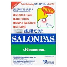 Salonpas Pain Relieving Patch 40 Patches